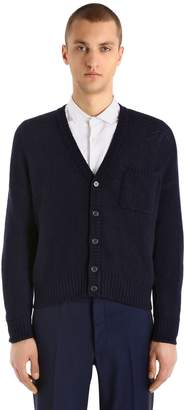 Prada Double Cashmere Knit Cardigan