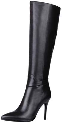 5c3f70ea2fc7 at Amazon Canada · Dance Style Women s Froie Black Autumn Winter Pointed  Toe Stiletto Heels Knee High Boot