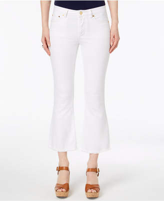 Michael Kors Cropped Flare-Leg Jeans