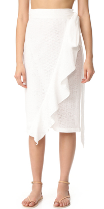 Marysia Swim Seahaven Skirt $550 thestylecure.com