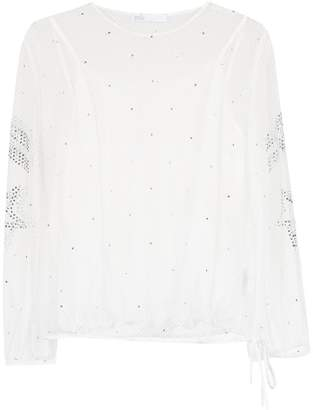 Nk embellished lace blouse