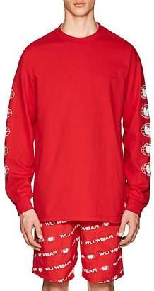 Wu Wear Men's Logo Cotton Jersey T-Shirt