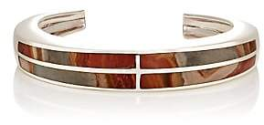 Pamela Love Women's Inlay Cross Cuff - Sterling Silver