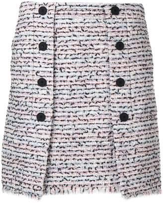 Karl Lagerfeld Paris bouclé skirt