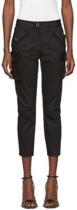 DSQUARED2 Black Multi-Pocket Trousers