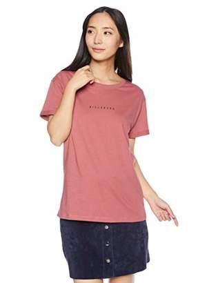 Billabong (ビラボン) - [ビラボン] [レディース] 半袖 プリント Tシャツ (ベーシック)[ AI014-202 / SS PRINT TEE ] サーフ かわいい VNP_ピンク US M (日本サイズM相当)