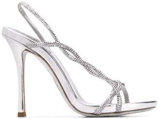 Rene Caovilla Treccia embellished sandals
