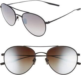 Salt Fufkin 54mm Polarized Round Sunglasses