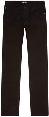 Tom Ford Brushed Straight Leg Trousers