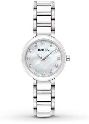 Bulova Women's Modern Diamond Accented Watch, 28mm - 0.060ctw