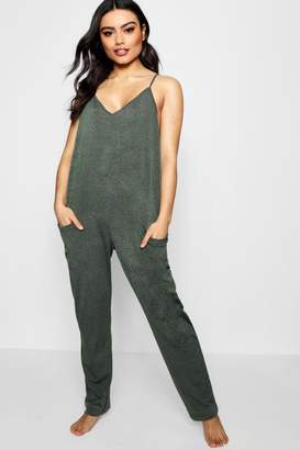 boohoo Lounge Slouch Jumpsuit