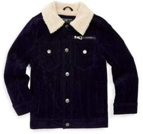 Urban Republic Little Boy's Faux Shearling-Collar Jacket