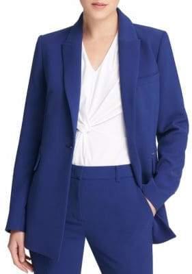 Donna Karan Single-Button Blazer