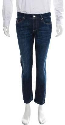 Brunello Cucinelli Dark Wash Skinny Jeans