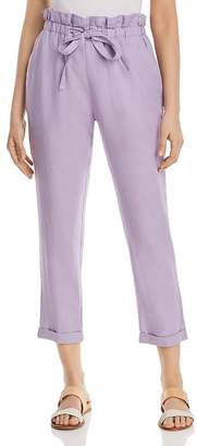 DKNY Cropped Paperbag-Waist Pants