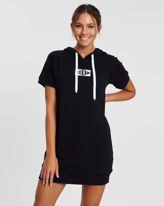 DKNY Logo SS Sneaker Dress