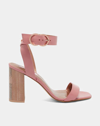 eac3cb61d Ted Baker Block Heel Women s Sandals - ShopStyle