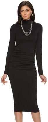 Women's Jennifer Lopez Ruched Sheath Dress $80 thestylecure.com
