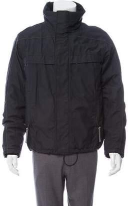 Prada Sport Collared Windbreaker Jacket
