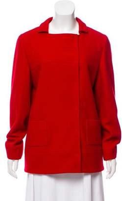 Miu Miu Wool Button Up Jacket