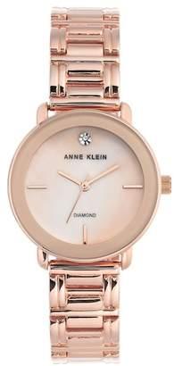 Anne Klein Women's Diamond Bracelet Watch, 32mm - 0.005 ctw