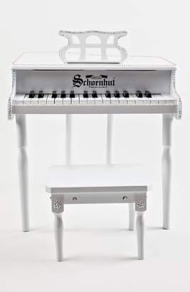 Mini A Ture Glitzy Bella Miniature Baby Grand Piano & Bench