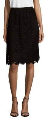 Escada Rosabel Lace Skirt