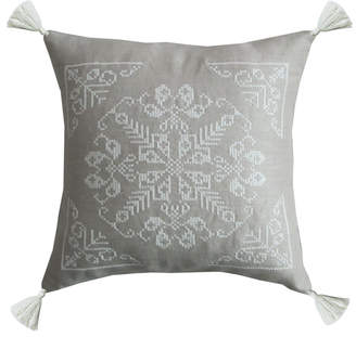Dounia Home Tasseled Moroccan Pillow
