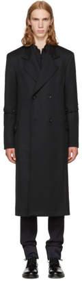 Loewe Black Button Sleeve Coat