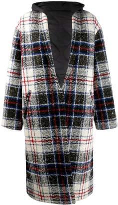 Couture Forte Dei Marmi tartan chequered coat