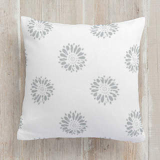 Vintage Floral Blossom Self-Launch Square Pillows