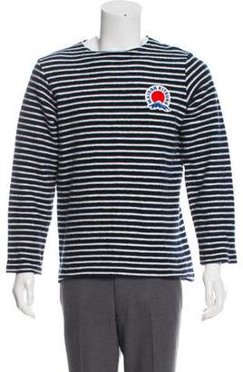 MAISON KITSUNÉ Logo Crew Neck Sweater