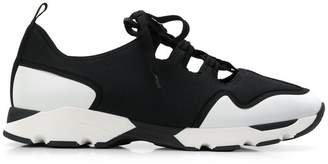 Marni cut-out detail sneakers