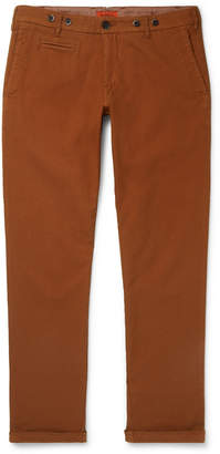 Barena Rampin Stretch-Cotton Twill Trousers