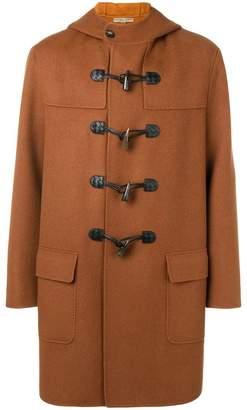 Bottega Veneta cashmere double breasted duffle coat