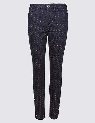 Marks and Spencer Pinspot Roma Rise Skinny Leg Jeans