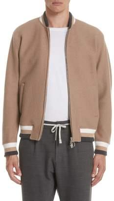 Eleventy Wool Bomber Jacket