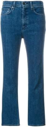 Rag & Bone flared cropped jeans