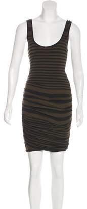 A.L.C. Striped Knee-Length Dress