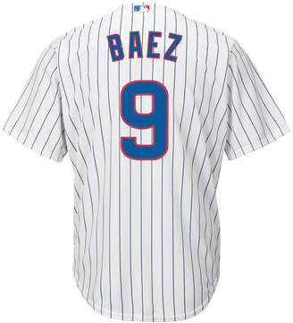 Majestic Men Javier Baez Chicago Cubs Replica Jersey