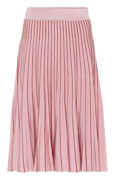 Jonathan Simkhai Pleated knit midi skirt
