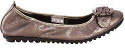 Django & Juliette NEW Womens Flats Bellez Flat Pewter - Shoes