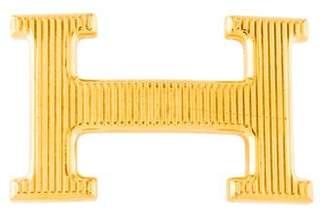Hermes Calandre Belt Buckle