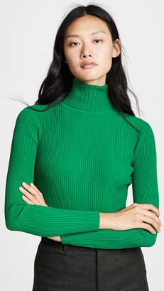 Milly Rib Turtleneck Pullover
