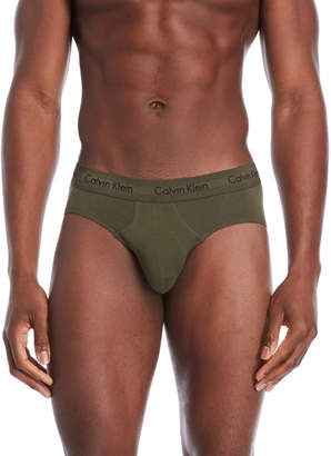Calvin Klein 3-Pack Classic Hip Briefs