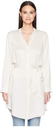 Eileen Fisher Silk Charmeuse Shirt Dress. Women's Dress