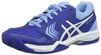 Asics Women's Gel-Dedicate 5 Clay Tennis Shoes (Monaco Blue/White 400)