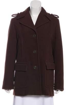 Calypso Short Wool Coat