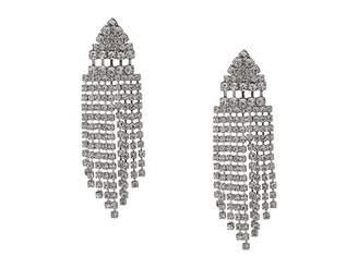 Nina Art Deco Crystal Fringe Earrings