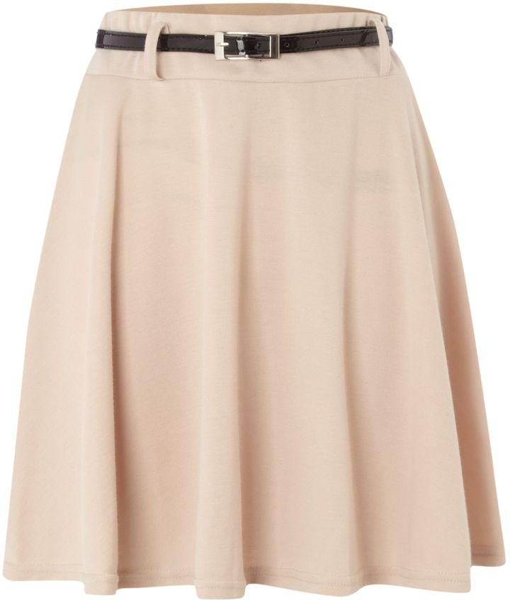 Women's Sodamix Sodamix waisted belt skirt